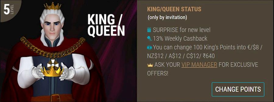 Loyality Program King Billy