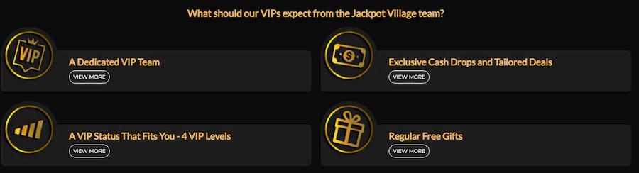 Loyalty Program Jackpot Village