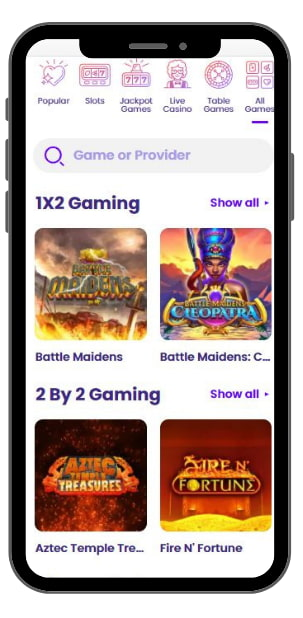 Mobile Casino Wildz