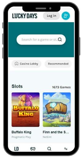 Moblie Casino Lucky Days