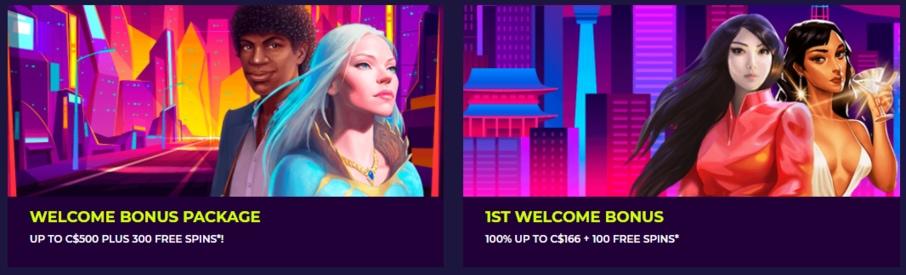 nightrush casino bonus information