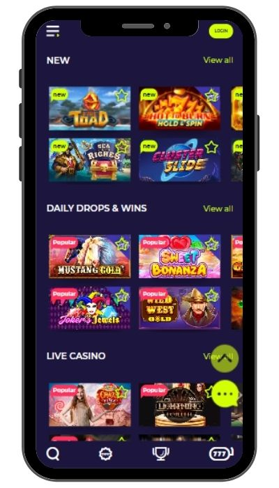 nightrush mobile casino